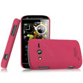 IMAK Ultrathin Matte Color Covers Hard Cases for Philips W626 - Rose (High transparent screen protector)