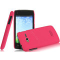 IMAK Ultrathin Matte Color Covers Hard Cases for TCL S600 - Rose (High transparent screen protector)