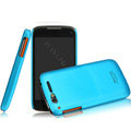 IMAK Ultrathin Matte Color Covers Hard Cases for TCL S800 - Blue (High transparent screen protector)