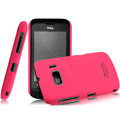 IMAK Ultrathin Matte Color Covers Hard Cases for TCL W939 - Rose (High transparent screen protector)