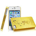 IMAK Virgo Constellation Color Covers Hard Cases for iPhone 4G\4S - Golden