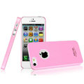 Imak ice cream hard cases covers for iPhone 5 - Pink (High transparent screen protector)