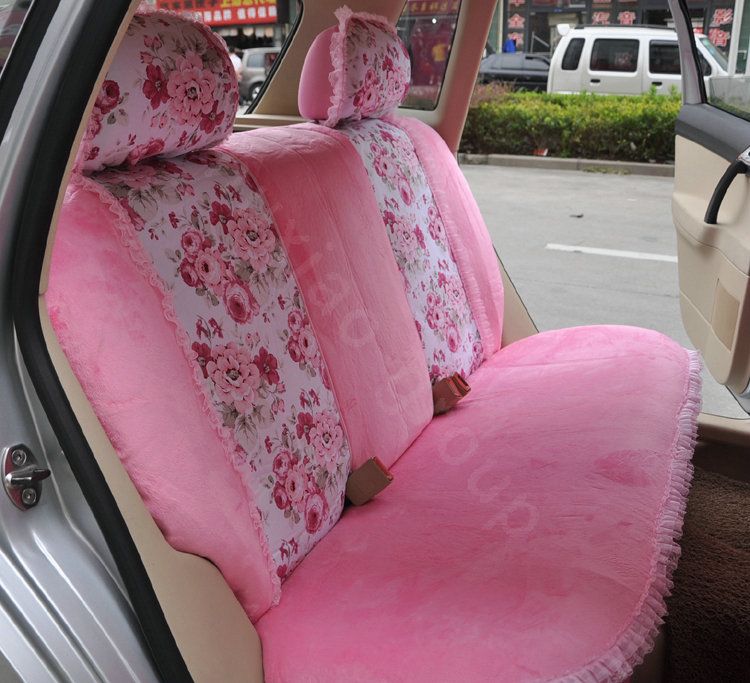 Buy Wholesale Bow Lace Universal Auto Car Seat Cover Set