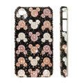 Bling Swarovski crystal cases Mickey head diamond covers for iPhone 5 - Black
