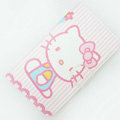 Hello kitty Side Flip leather Cases Covers for Samsung N7100 GALAXY Note2 - Pink