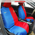 Futbol Club Barcelona Universal Auto Car Seat Cover Set 16pcs - Blue Red