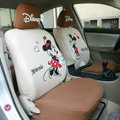 Mickey Minnie Mouse universal Auto Car Seat Covers set - Brown