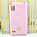 TPU Soft Cases Colorful Covers Skin for LG F160L Optimus LTE II 2 - Pink