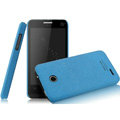 IMAK Cowboy Shell Quicksand Hard Cases Covers for ZTE U795 - Blue (High transparent screen protector)
