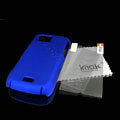 IMAK Ultrathin Color Covers Hard Cases for Samsung S8003 S8000 - Blue (High transparent screen protector)