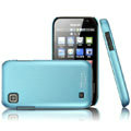 IMAK Ultrathin Matte Color Covers Hard Back Cases for Samsung i909 - Blue