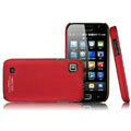IMAK Ultrathin Matte Color Covers Hard Back Cases for Samsung i909 - Red