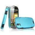 IMAK Ultrathin Matte Color Covers Hard Cases for Motorola XT800 - Blue (High transparent screen protector)