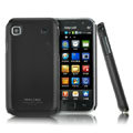 IMAK Ultrathin Matte Color Covers Hard Cases for Samsung i9008 i9003 - Black