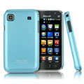 IMAK Ultrathin Matte Color Covers Hard Cases for Samsung i9008 i9003 - Blue