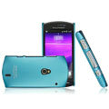 IMAK Ultrathin Matte Color Covers Hard Cases for Sony Ericsson Xperia Neo MT15i MT11i - Blue