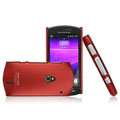 IMAK Ultrathin Matte Color Covers Hard Cases for Sony Ericsson Xperia Neo MT15i MT11i - Red