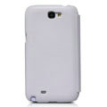 Nillkin leather Cases Holster Covers for Samsung N7100 GALAXY Note2 - White (High transparent screen protector)
