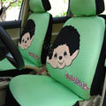 Monchhichi Universal Auto Car Seat Cover Set 18pcs - Green