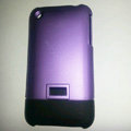 Matte plastic Hard Back Cases Skin Covers for iPhone 3G/3GS - Purple