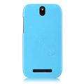 Nillkin Colourful Hard Cases Covers Skin for HTC T528t One ST - Blue (High transparent screen protector)
