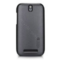 Nillkin Colourful Hard Cases Skin Covers for HTC T528t One ST - Black (High transparent screen protector)