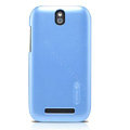 Nillkin Colourful Hard Cases Skin Covers for HTC T528t One ST - Blue(High transparent screen protector)