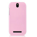 Nillkin Colourful Hard Cases Skin Covers for HTC T528t One ST - Pink (High transparent screen protector)