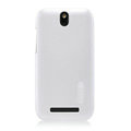 Nillkin Colourful Hard Cases Skin Covers for HTC T528t One ST - White (High transparent screen protector)
