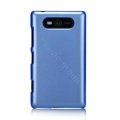 Nillkin Colourful Hard Cases Skin Covers for Nokia Lumia 820 - Blue (High transparent screen protector)