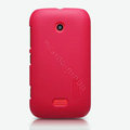 Nillkin Super Matte Hard Cases Skin Covers for Nokia Lumia 510 - Red (High transparent screen protector)