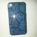 Plastic Hard Back Cases Skin Covers for iPhone 3G/3GS - Blue
