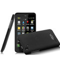 IMAK Ultrathin Matte Color Covers Hard Cases for HTC T528d One SC - Black (High transparent screen protector)
