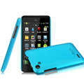 IMAK Ultrathin Matte Color Covers Hard Cases for HTC T528d One SC - Blue (High transparent screen protector)