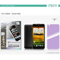 Nillkin Anti-scratch Frosted Screen Protector Film for HTC X920e Droid DNA