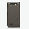 Nillkin Super Matte Hard Cases Skin Covers for Motorola XT788 - Brown (High transparent screen protector)