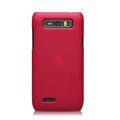 Nillkin Super Matte Hard Cases Skin Covers for Motorola XT788 - Red (High transparent screen protector)