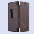 Nillkin England Retro Leather Cases Holster Covers for Nokia Lumia 920 - Brown (High transparent screen protector)