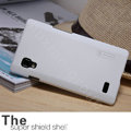Nillkin Super Matte Hard Cases Covers for LG P765 Optimus L9 - White (High transparent screen protector)