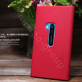 Nillkin Super Matte Hard Cases Skin Covers for Nokia Lumia 920 - Red (High transparent screen protector)