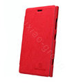 Nillkin leather Cases Holster Covers Skin for Nokia Lumia 920 - Red (High transparent screen protector)