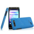 IMAK Cowboy Shell Hard Case Cover for Motorola XT788 - Blue (High transparent screen protector)