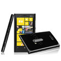Imak ice cream hard case cover for Nokia Lumia 920 - Black (High transparent screen protector)