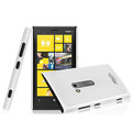 Imak ice cream hard case cover for Nokia Lumia 920 - White (High transparent screen protector)