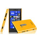 Imak ice cream hard case cover for Nokia Lumia 920 - Yellow (High transparent screen protector)