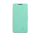Nillkin Fresh leather Case button Holster Cover Skin for HUAWEI C8813 - Green