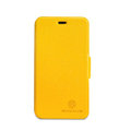 Nillkin Fresh leather Case button Holster Cover Skin for Nokia Lumia 620 - Yellow