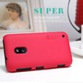 Nillkin Super Matte Hard Case Skin Cover for Nokia Lumia 620 - Red (High transparent screen protector)