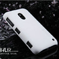 Nillkin Super Matte Hard Case Skin Cover for Nokia Lumia 620 - White (High transparent screen protector)