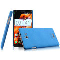 IMAK Cowboy Shell Hard Case Cover for Coolpad 8730 - Blue (High transparent screen protector)